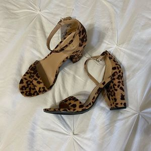 A New Day Leopard heels size 6 1/2